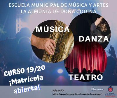 Escuela musica y artes 2019
